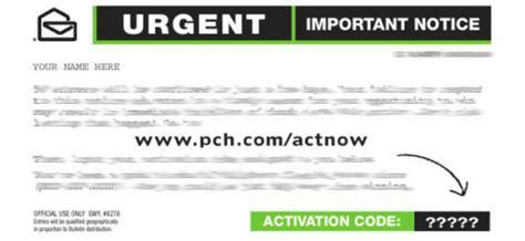 Pch Com Urgent - important a pch com urgent notice could win you fast cash pch blog