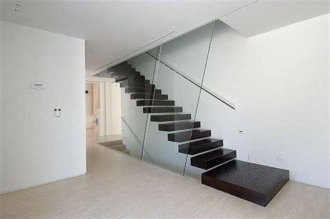 Floating Stairs Design Suspended Style 32 Floating Staircase Ideas For The Contemporary Home