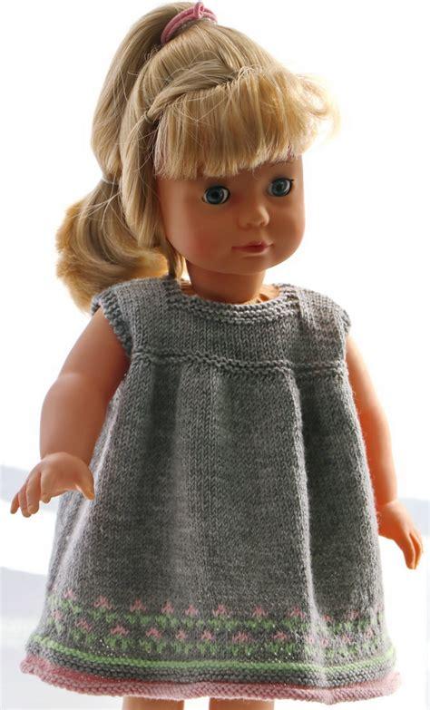 dolls for dressing in knitting 18 inch doll dress knitting pattern