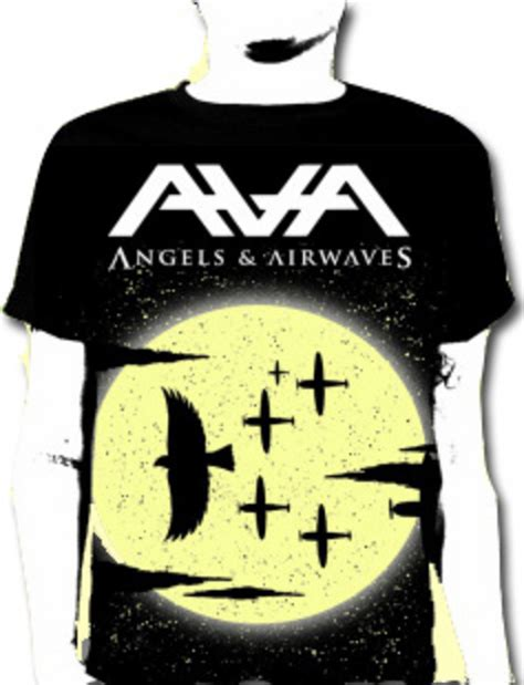 Tshirt Band And Airwaves official t shirt and airwaves moon crows e p m