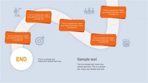 Career Path Powerpoint Templates Career Roadmap Template