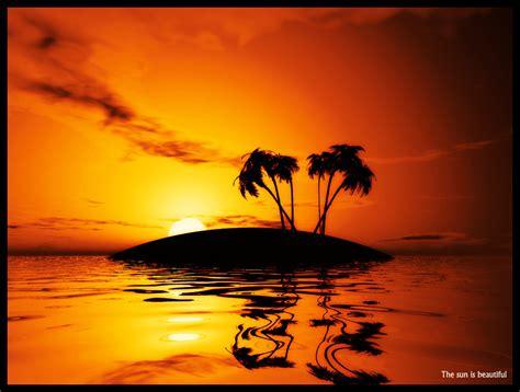 coucher de soleil palmiers et coucher de soleil by francois088 on deviantart