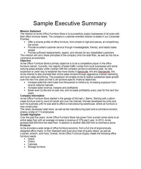 executive summary memo military bralicious co
