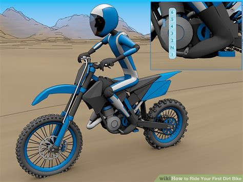 How To Ride Your Dirt Bike 10 Steps With Pictures