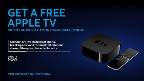 film gratis apple tv ท t again giving new directv now subscribers a free apple tv