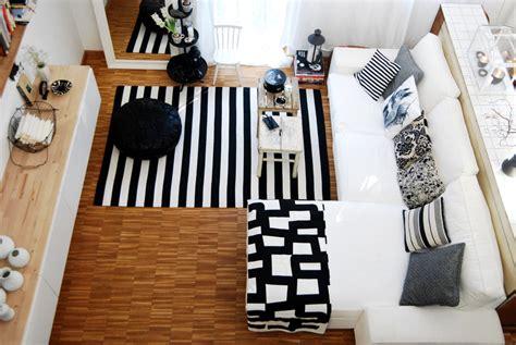 deko schwarz weiß kleine kinderzimmer gestalten