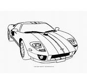 Coloring Cars Pages