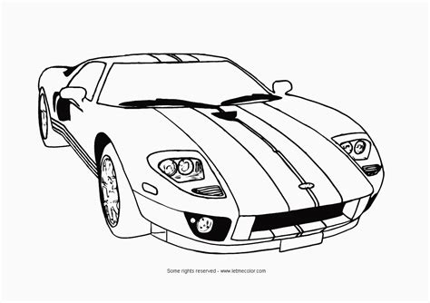 coloring cars coloring pages