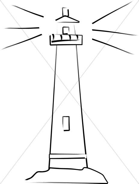 Decorative Lighthouses For In Home Use by Lighthouse Shows The Way Christian Symbols