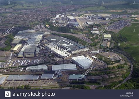 vauxhall luton aerial view of vauxhall s main plant in luton with the