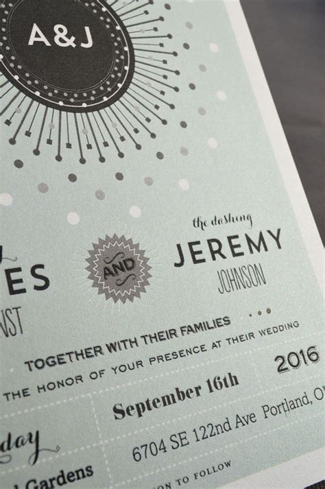 Getting Wedding Invitations Printed by Raised Print Wedding Invitations Mini Bridal
