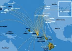 hawaiian airlines new brisbane usa connections via