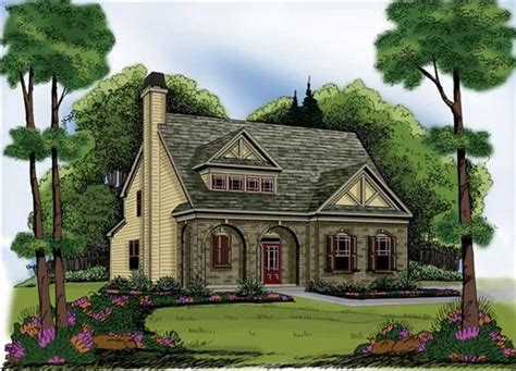 There S Nothing Like A Tudor Style Home For Storybook Appeal Small House Plans Tudor