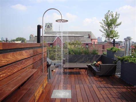 dachterrasse bodenbelag roof terrace design ideas outdoortheme
