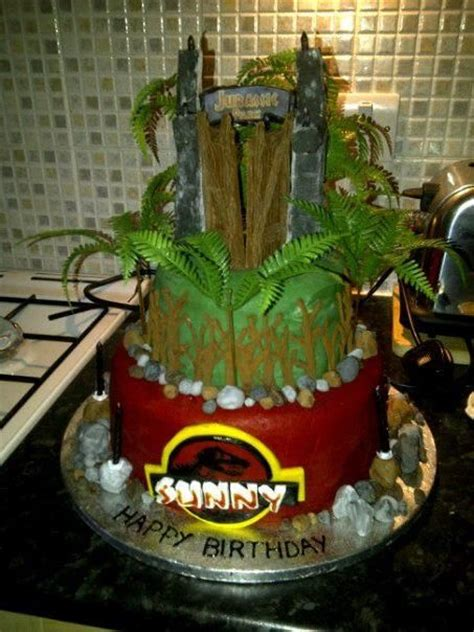 Jurassic Park Cake Decorations by Jurassic Park Cake Cake Ideas And Designs