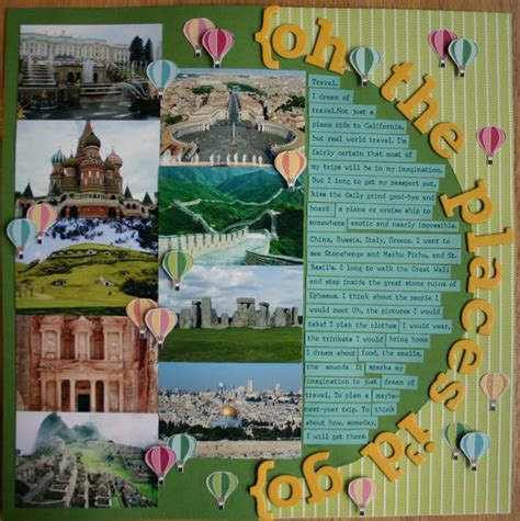 scrapbook layout travel 34 best images about scrapbook travel on pinterest