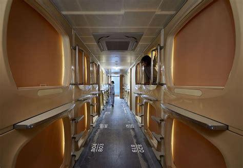retro tokyo capsule hotel renovated  schemata architects
