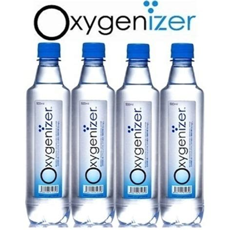 Harga Bottled qoo10 oxygen h2o water the new way of breathing 12