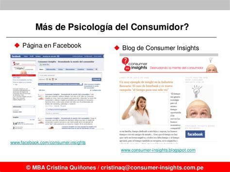 Mba Psicologia by La Psicolog 237 A Consumidor Retos Y Oportunidades