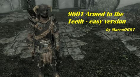 armed to the teeth at skyrim nexus mods and community 9601 armed to the teeth easy version at skyrim nexus
