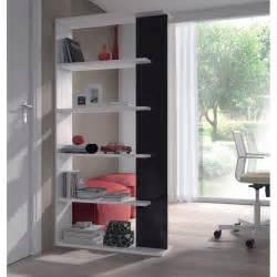 Black And White Bookcase Adila Black And White Gloss Bookcase Next Day Delivery