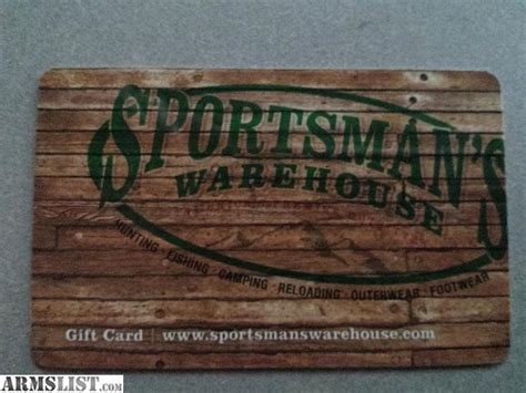 Sportsmans Warehouse Gift Card - armslist for sale sportsmans warehouse gift card
