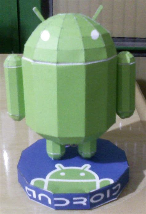 Android Papercraft - build your own papercraft android androidguys