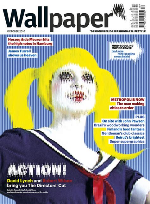 design magazine london dentsu london and wallpaper magazine branding