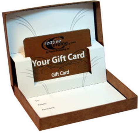 Gift Card Gift Boxes - unique gift card giving with customized gift boxes newswire