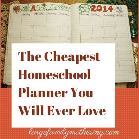 homeschool lesson planner app the cheapest homeschool planner you will ever love free