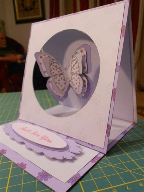 Butterfly Easel Card Template by 25 Best Ideas About Easel Cards On Folded