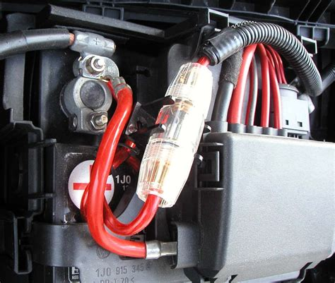 battery power wire how to install lifier power wire in lexus