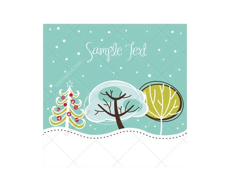 winter  christmas vector greeting cards beautiful christmas card templates  winter cards