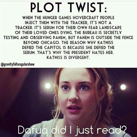 the hunger plot twist by for my thought on divergent hunger crossover hunger