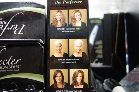 Perfector Hair Styler Infomercial by Calista Tools Perfecter Volumizing Heated Brush On