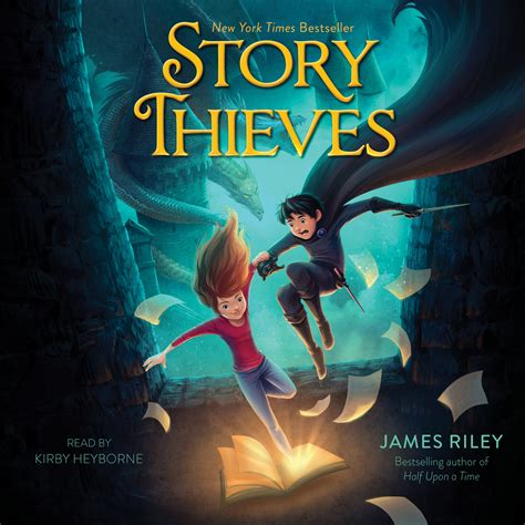 A Book Of Spirits And Thieves By Ebook Novel story thieves audiobook by kirby heyborne official publisher page simon schuster