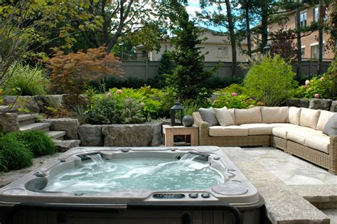 backyard hot tub designs hot tubs in backyard designs joy studio design gallery