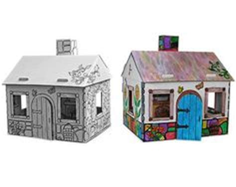 paint your own dolls house 1000 images about cardboard playhouse to color on pinterest cardboard playhouse