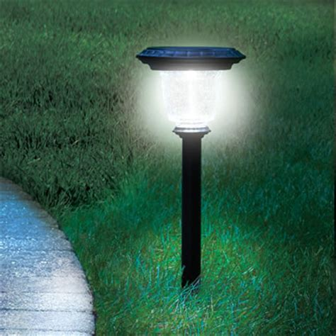 the best solar walkway light the best solar walkway light hammacher schlemmer