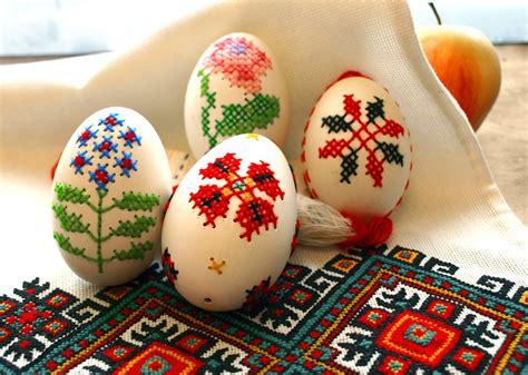 amazing easter eggs file embroidered eggs by i forostyuk jpg