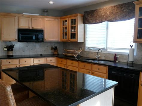 Kitchen Backsplash Photos White Cabinets by Replacing Over The Range Microwave Leads To Complete Remodel