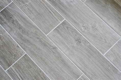 Plank Floor Tile Home Design Ideas Surprising Materials Grey Wood Tile Floor Interesting Decoration Grey Plank