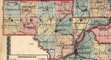 Illinois Net Name Search Schuyler County Illinois Maps And Gazetteers