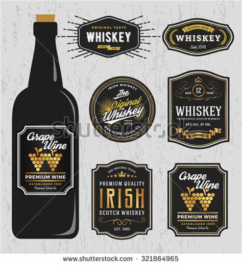 liquor label template liquor label template printable label templates