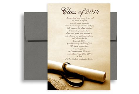 graduation announcement template 2017 degree photo background graduation announcement