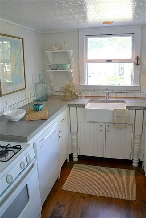 concrete countertops with farmhouse sink concrete countertop with farmhouse sink my home