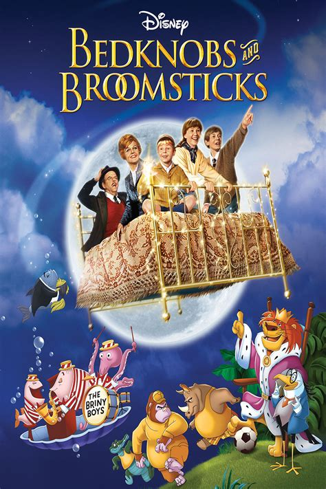 Bed Knobs And Broomsticks by Bedknobs And Broomsticks 1971 Live Disney Project