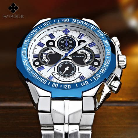 2016 fashion wwoor mens watches top brand luxury