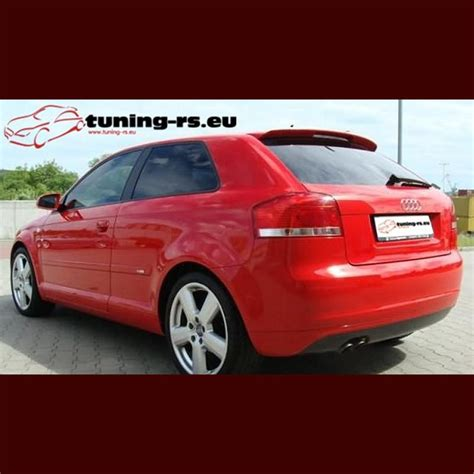 audi a3 roof spoiler audi a3 s3 rear roof spoiler 8p tuning rs eu ebay
