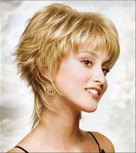 short shag hairstyles back view most endearing hairstyles for fine curly hair fave